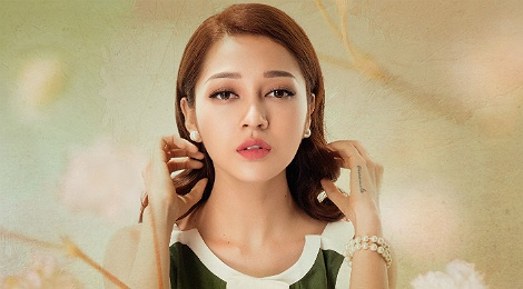 Bao Anh hat ve 'nguoi vo tam' du dang hanh phuc ben tinh moi hinh anh
