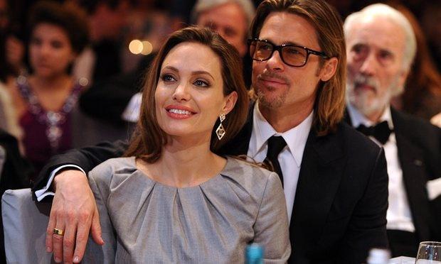 Brad Pitt va Angelina Jolie dang can nhac rut don ly hon hinh anh