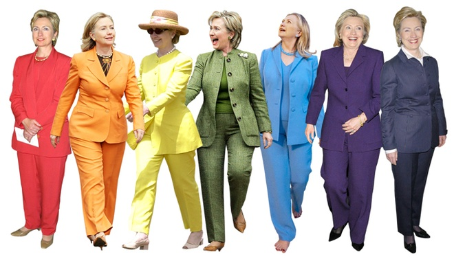 Thong diep chinh tri qua trang phuc cua Hillary Clinton hinh anh 3