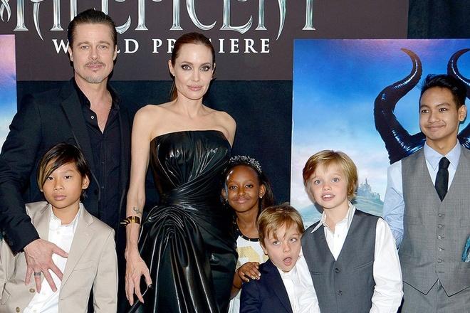 Brad Pitt guc nga khi Maddox noi: 'Ong khong phai cha toi' hinh anh 2