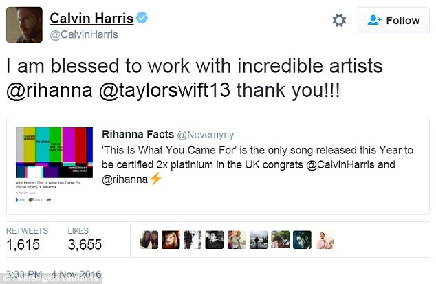 Calvin Harris bat ngo khen Taylor Swift sau chia tay hinh anh 1