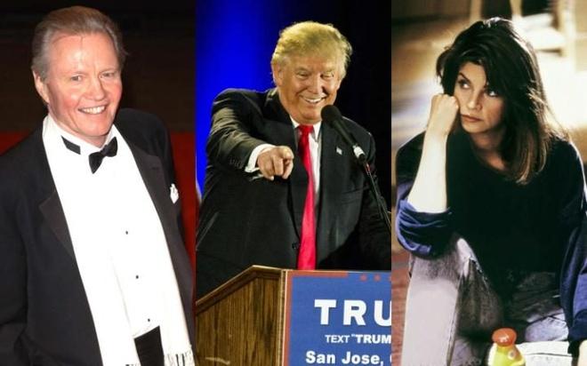 Dieu gi xay ra voi cac sao tuyen bo bo di khi Trump dac cu? hinh anh