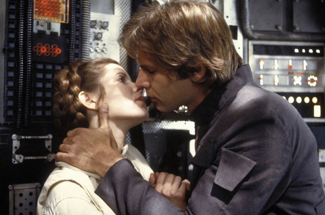carrie fisher ke chuyen giuong chieu voi harrison ford anh 1