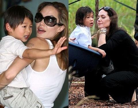Me ruot Pax Thien bac bo viec doi lai con tu Angelina Jolie hinh anh 2