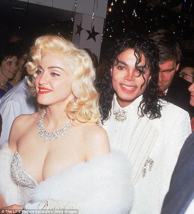 cuoc tinh Michael Jackson va Madonna anh 1