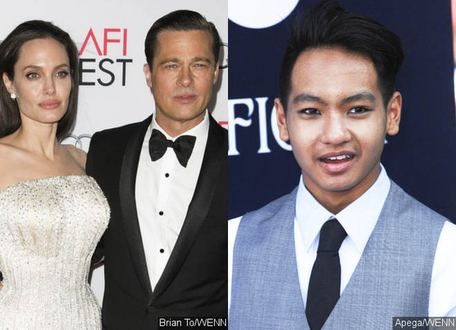 Maddox len quay canh Brad Pitt noi gian voi Angelina Jolie? hinh anh