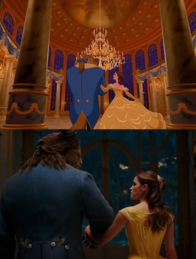 'Beauty and the Beast' tai hien phien ban hoat hinh hinh anh 10