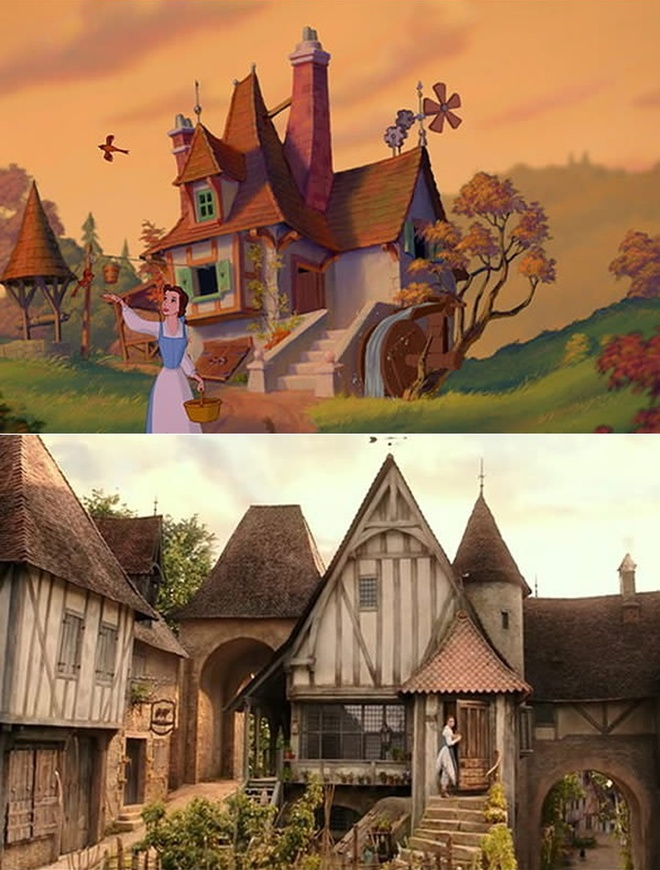 'Beauty and the Beast' tai hien phien ban hoat hinh hinh anh 9