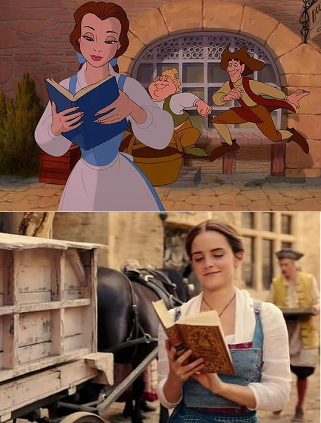 'Beauty and the Beast' tai hien phien ban hoat hinh hinh anh 1
