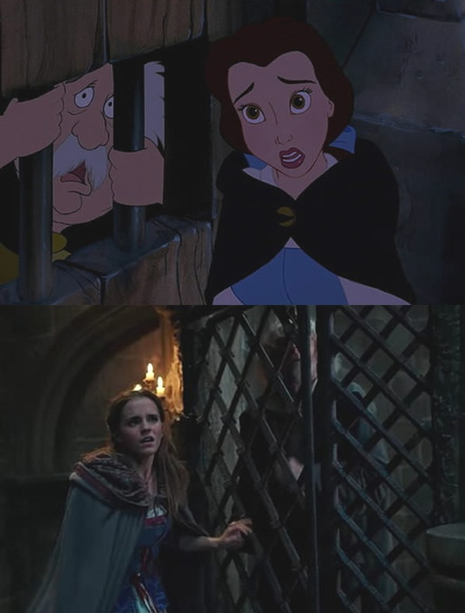 'Beauty and the Beast' tai hien phien ban hoat hinh hinh anh 5