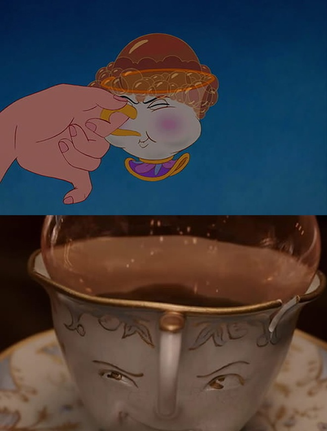 'Beauty and the Beast' tai hien phien ban hoat hinh hinh anh 6