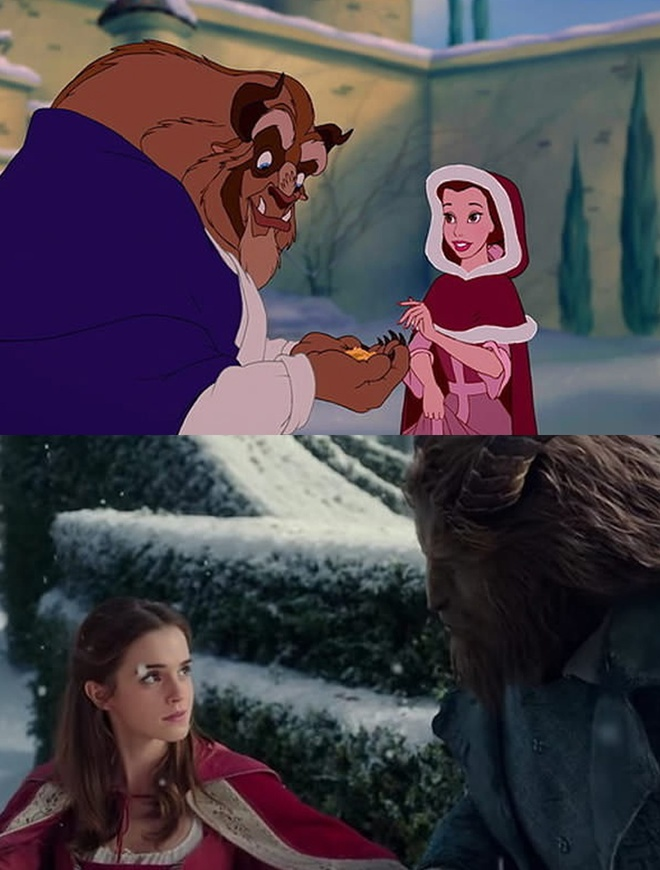 'Beauty and the Beast' tai hien phien ban hoat hinh hinh anh 8