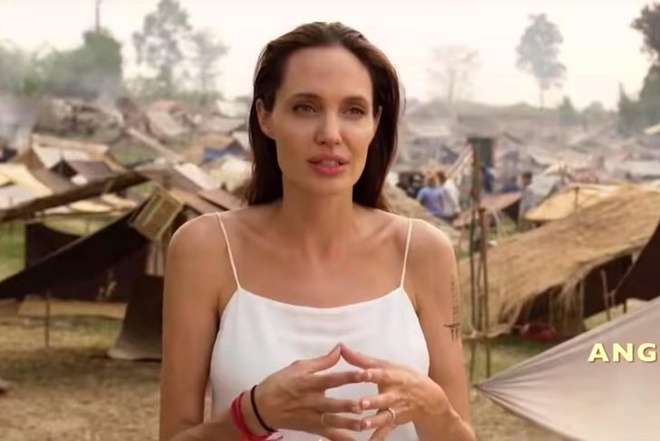 Khmer Do,  Campuchia,  Angelina Jolie anh 1