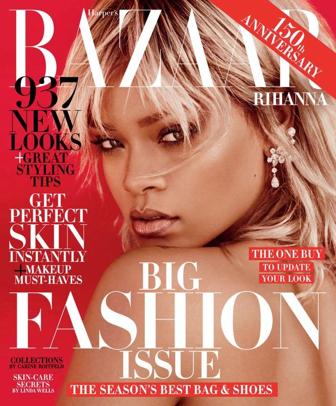 Rihanna tren tap chi Harper's Bazaar anh 1