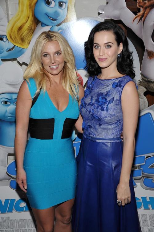 Katy Perry da xeo Britney Spears anh 2