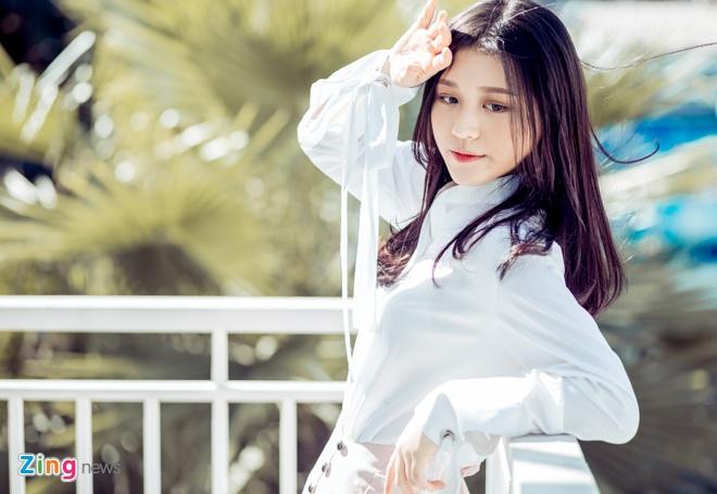 Hot girl Han o The Voice: 'Em khong lam ban sao Hari Won' hinh anh 2
