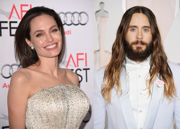 Brad Pitt khong bat ngo khi Angelina Jolie hen ho Jared Leto hinh anh
