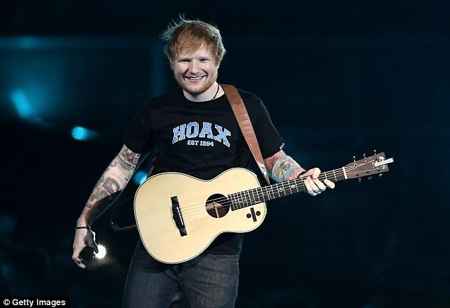 Ed Sheeran va cong cuoc ghi danh lich su am nhac chi sau mot dem hinh anh