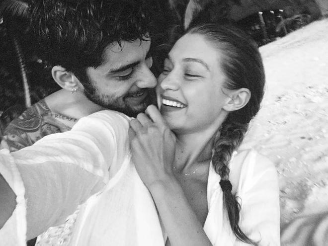 Zayn Malik va Gigi Hadid anh 1