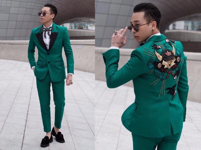 Hoang Ku va Phi Phuong Anh mac an y o Seoul hinh anh 4