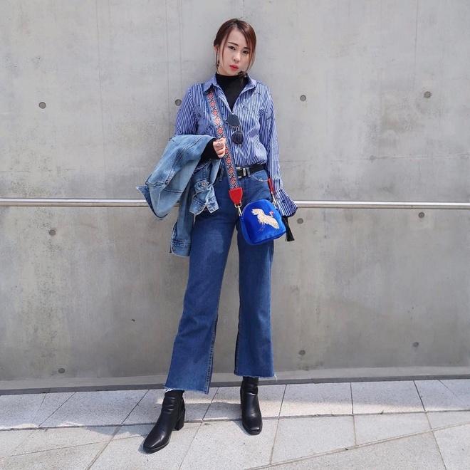 Gioi mo dieu khoe street style o Tuan le thoi trang Seoul hinh anh 7