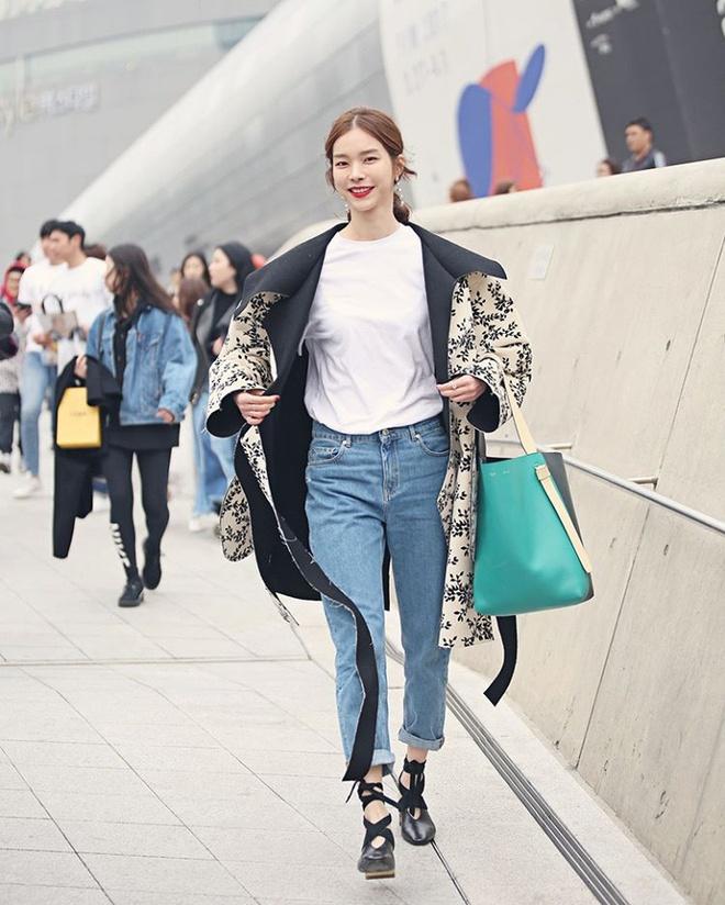 Gioi mo dieu khoe street style o Tuan le thoi trang Seoul hinh anh 6
