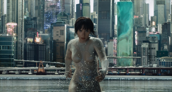 Vo boc dac biet trong 'Ghost In The Shell' cua Scarlett Johansson hinh anh 1
