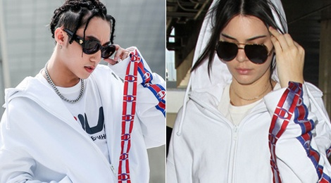 Son Tung M-TP 'dung hang' voi sieu mau Kendall Jenner hinh anh