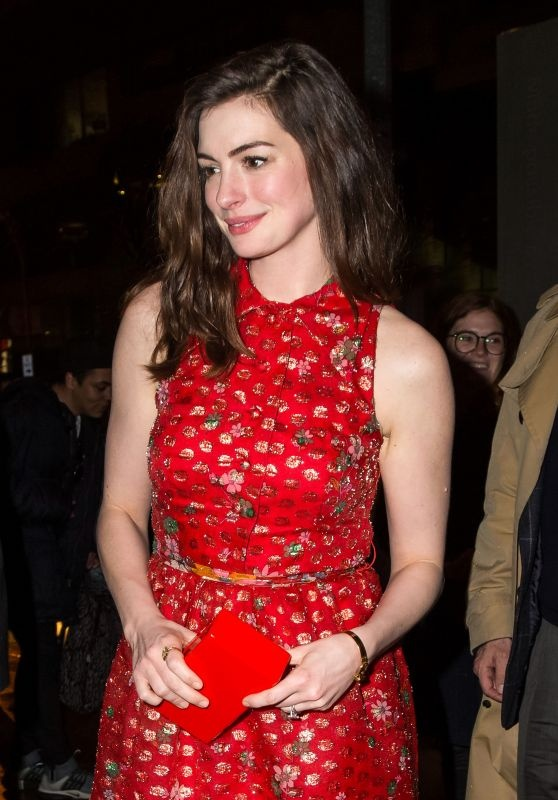 Anne Hathaway ko dam ngoi vi mac vay cau ky hinh anh 6