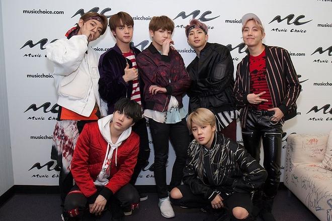BTS di tour o My anh 1