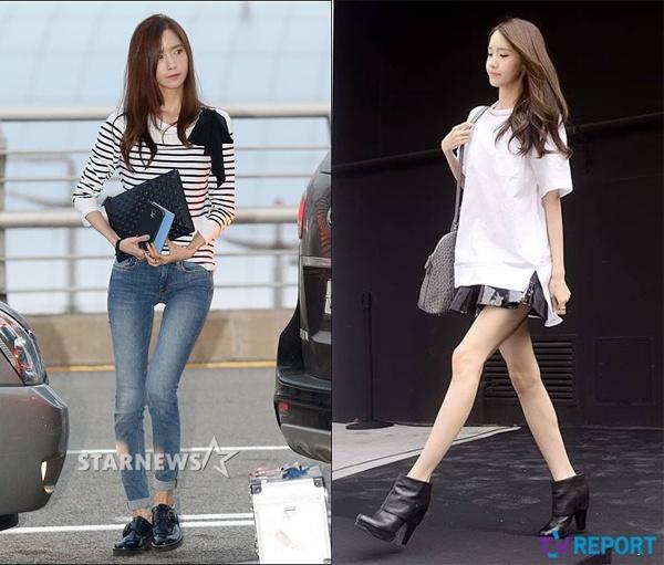 Yoona (SNSD) dien vay ngan de lo chan cong o su kien hinh anh 7