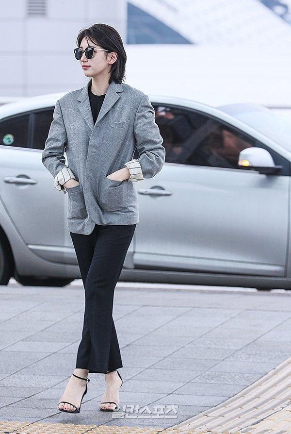 Ban gai Lee Min Ho bi che khi cat toc ngan hinh anh 1