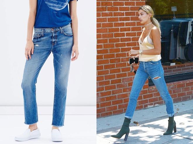 6 mot quan jeans dang lam mua lam gio he 2017 hinh anh 4