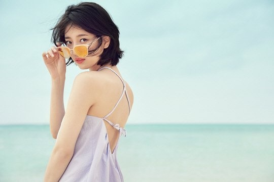 Ban gai Lee Min Ho mac goi cam voi toc moi hinh anh 1