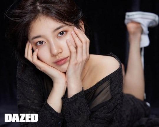 Kieu nu Kpop Suzy roi JYP anh 1