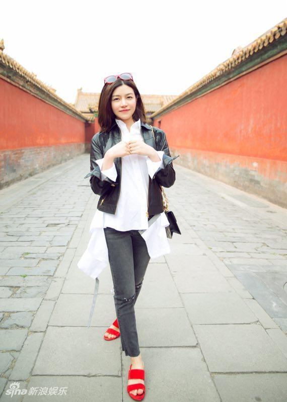 Canh Diem dien street style an tuong nhat dan sao Hoa - Han tuan qua hinh anh 6