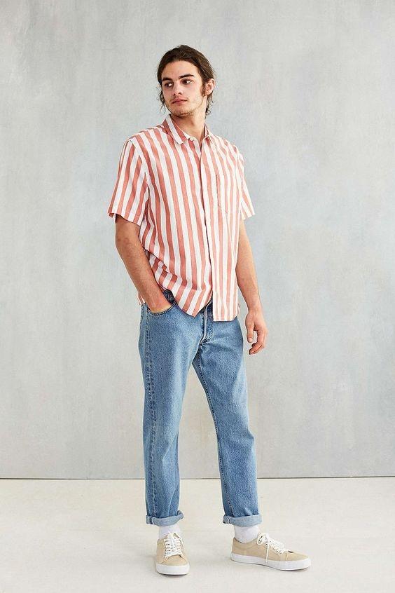 Cach chon quan jeans nam phu hop voi voc dang hinh anh 5