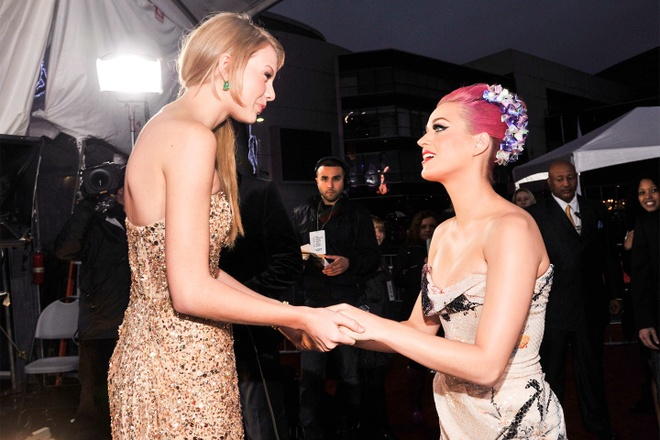 Katy Perry da deu Taylor Swift anh 1