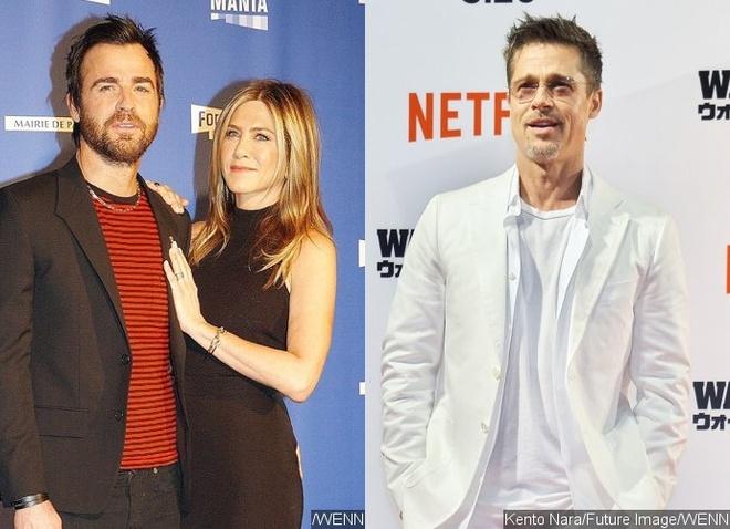 Jennifer Aniston Brad Pitt anh 2