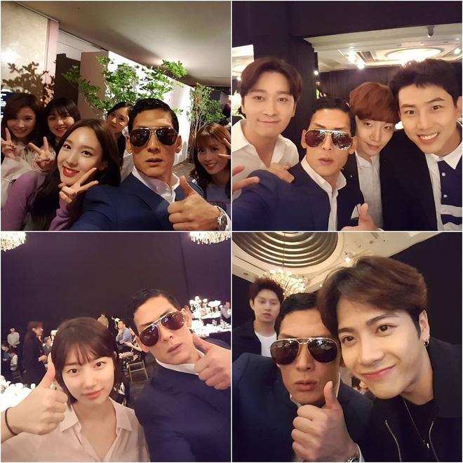 Dan sao nha JYP co mat trong dam cuoi cua CEO Jungwook hinh anh 8