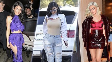 Nhung bo trang phuc ky quai cua 'hot girl so 1 Hollywood' Kylie Jenner hinh anh