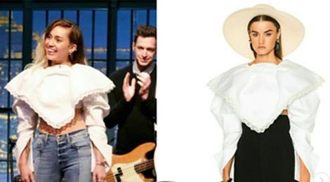 Miley Cyrus so huu nhung trang phuc hang hieu nao trong tu do? hinh anh