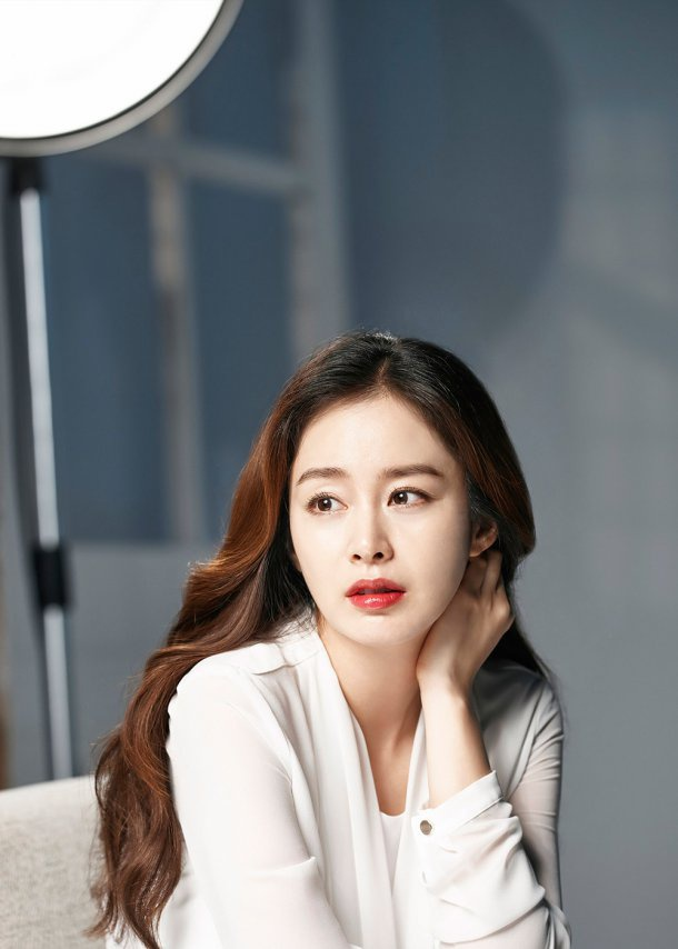 Ba bau Kim Tae Hee xinh dep trong anh moi anh 1