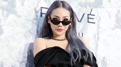 Rapper Kpop CL mac ho henh o su kien thoi trang hinh anh