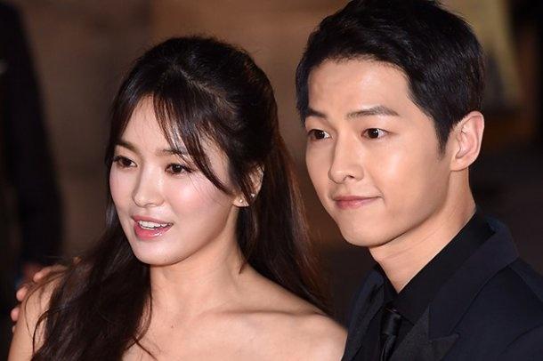 Dai truyen hinh tung bang chung Song Hye Kyo – Song Joong Ki o cung villa anh 1