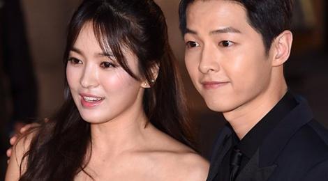 Dai truyen hinh tung bang chung Song Hye Kyo - Song Joong Ki hen ho hinh anh