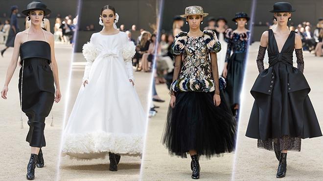 Chanel mang tinh than Paris va thap Eiffel vao show dien Couture 2017 hinh anh