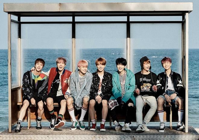 BTS gap doi Twice, Big Bang ve doanh so album hinh anh