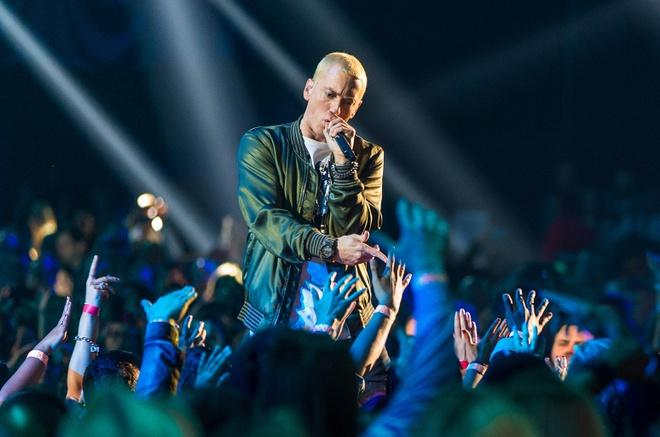 'Ong hoang nhac rap' Eminem da san sang tro lai hinh anh 1
