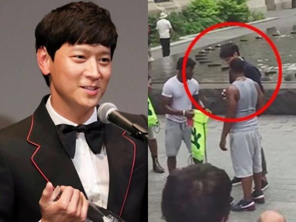 Fan tranh luan clip Kang Dong Won bi xin tien o My hinh anh